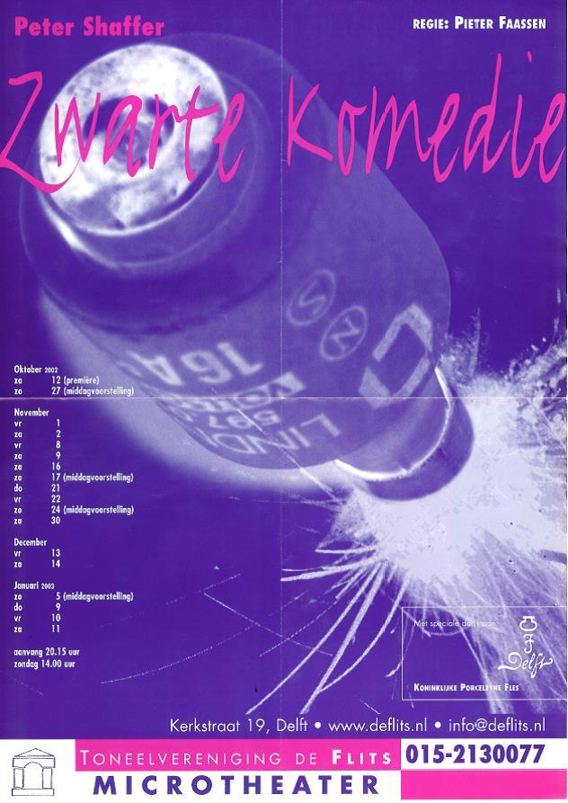 2002Zwartekomedie-affiche